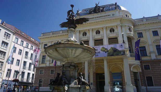 Bratislava theatre
