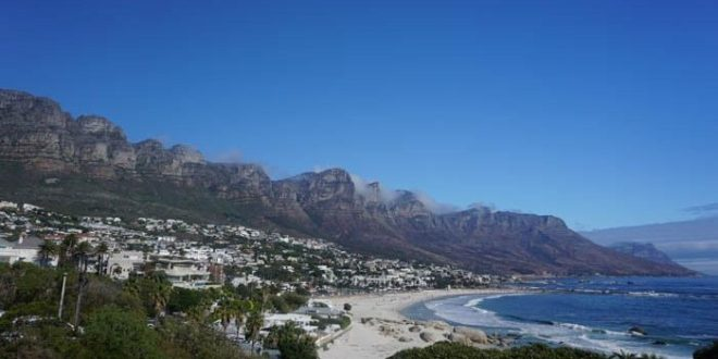 Camps Bay and Table Mountain
