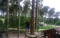 navigating the high ropes course