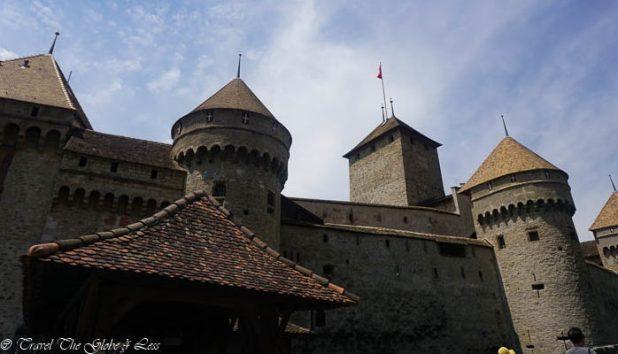 Chillon Castle, Montreux, Lausanne