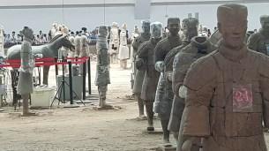 Terracotta Warriors Pit 1 restoration