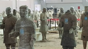 Terracotta Warriors partial reconstruction