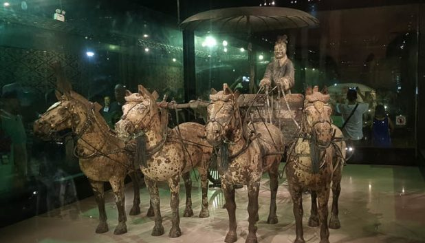 Terracotta Warriors horse and chariot