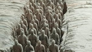 Terracotta Warriors Pit one rows