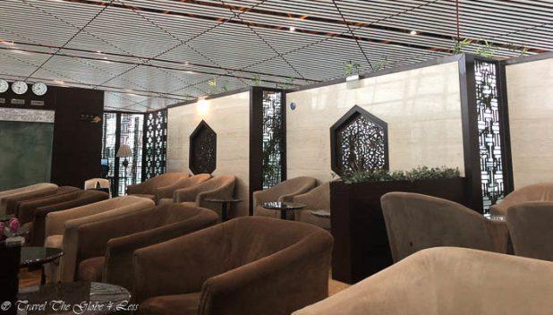 BJS Beijing seating area