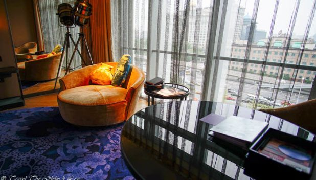 W Beijing hotel daybed