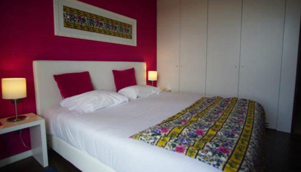 Real Abadia Hotel bedroom