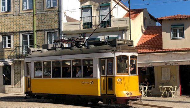 Trams in Lisbon