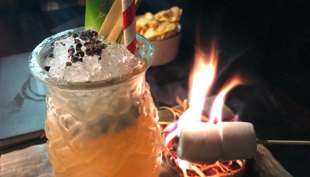 Soft island Punch masterpiece at the Washhouse