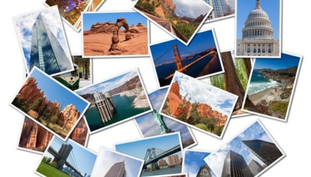 postcards of the United States