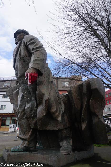 Lenin statue, Fremont