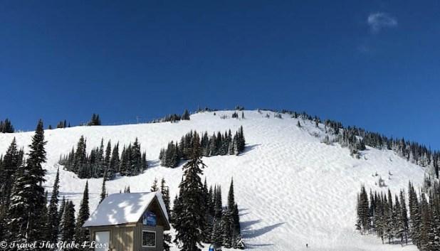 Sun Peaks resort black run