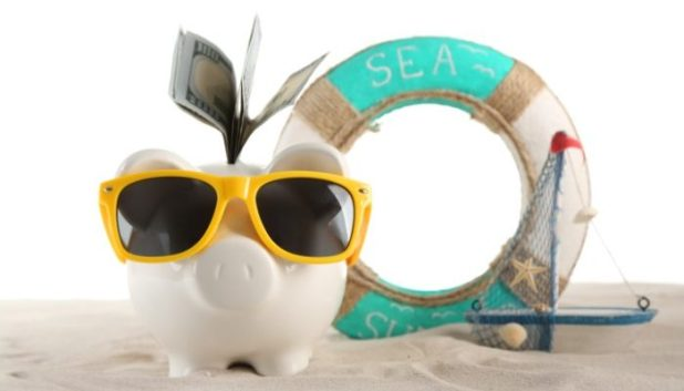bank your airmiles in your travel piggy bank