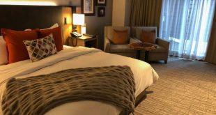 Salish Lodge bedroom living area