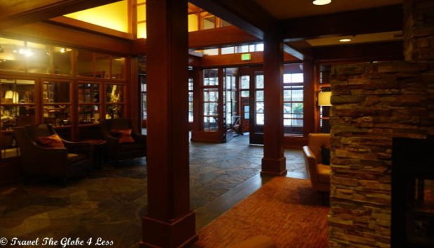 Salish Lodge lobby area