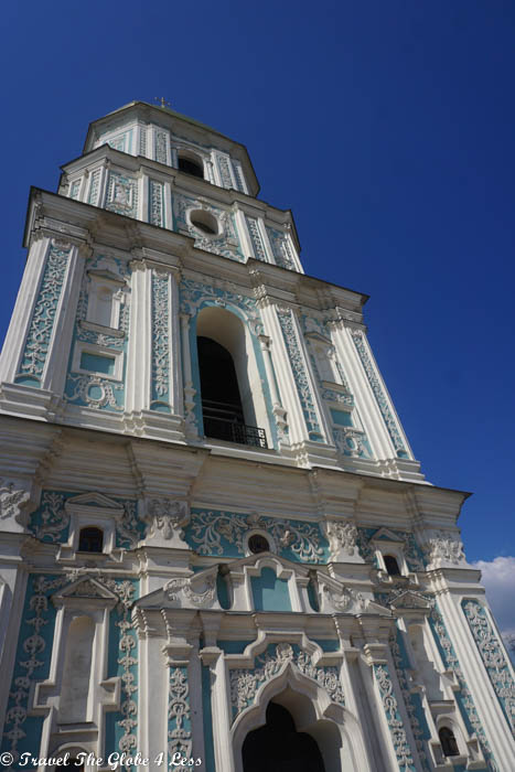 St Sophias bell tower, Kiev