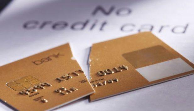 Cut up gold card