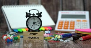 loyalty program and other items on desk