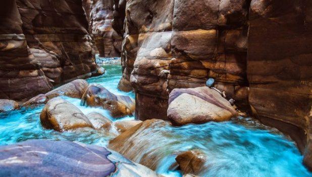 Mujib Canyons