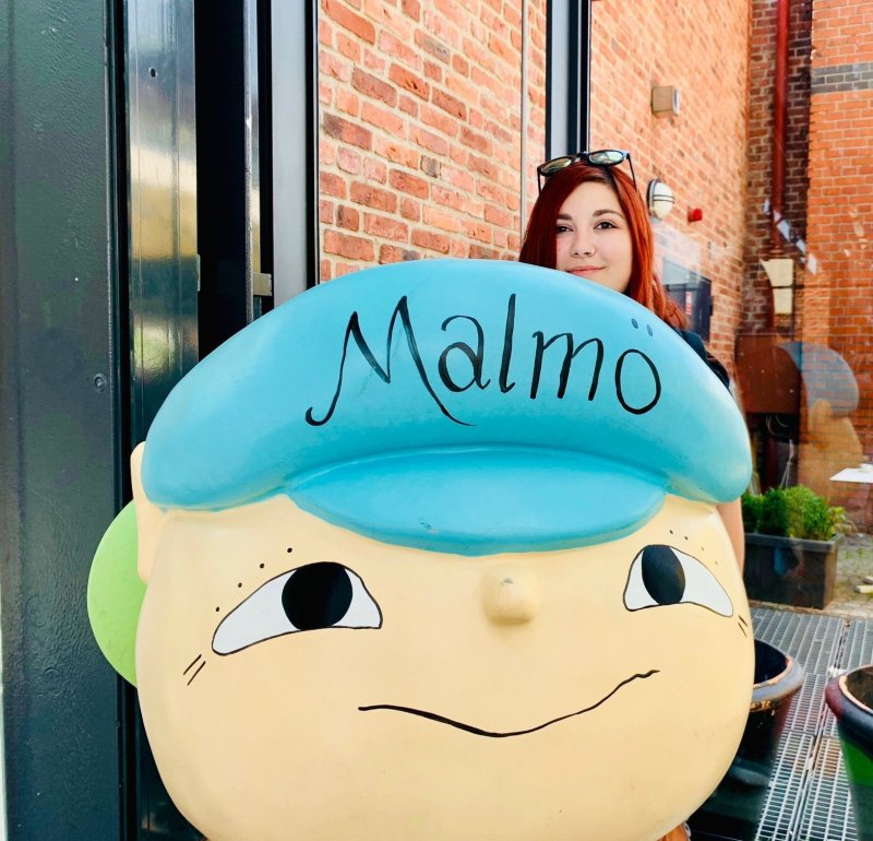 Elina a Malmö traveltherapists blog giappone elina e marzia blogger miglior blog di viaggio nomadi digitali psicologia del viaggio travel therapy