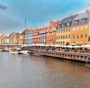 Vista su Nyhavn