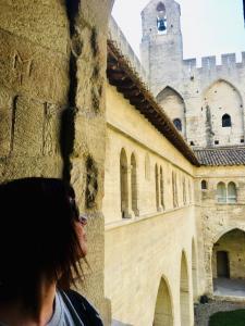 Marzia al Palazzo dei Papi di Avignone