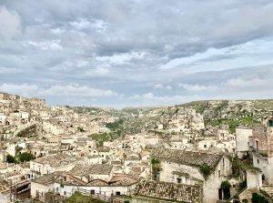 I sassi di Matera, location della Passione di Cristo