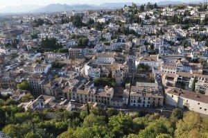 vista su Granada