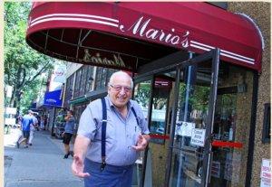 Mario il titolare del famoso ristorante