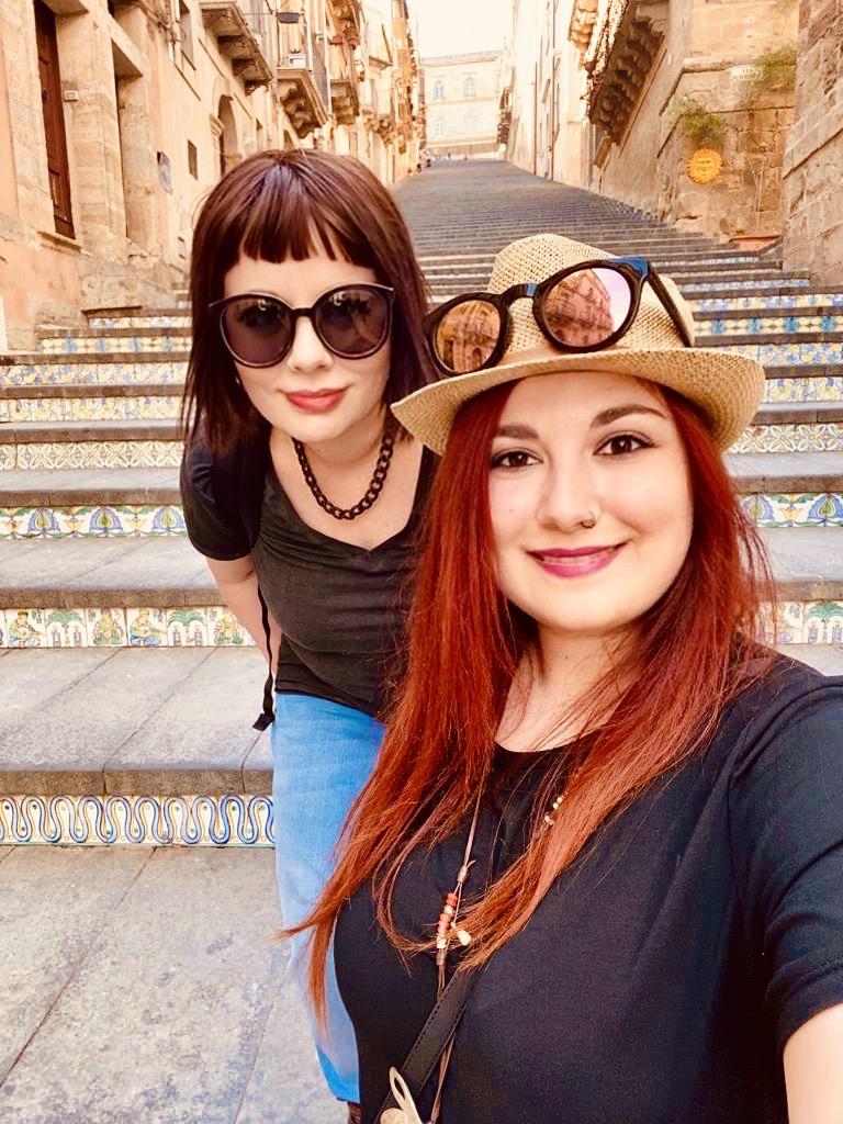 Marzia e Elina Val di Noto