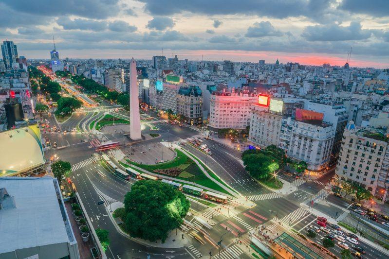 panorama su Buenos Aires
