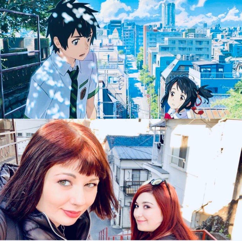 "traveltherapists -""Your name."" Le location dell'anime di Makoto Shinkai a Tokyo"