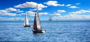 barche a vela in mare