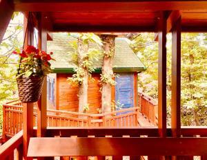 balcone del Matilde's Chalet Nature House - ph M. Parmigiani