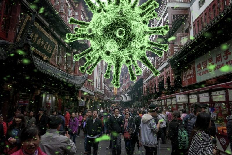 asia folla e coronavirus