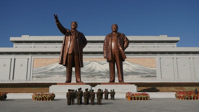 statue leader nordcoreane