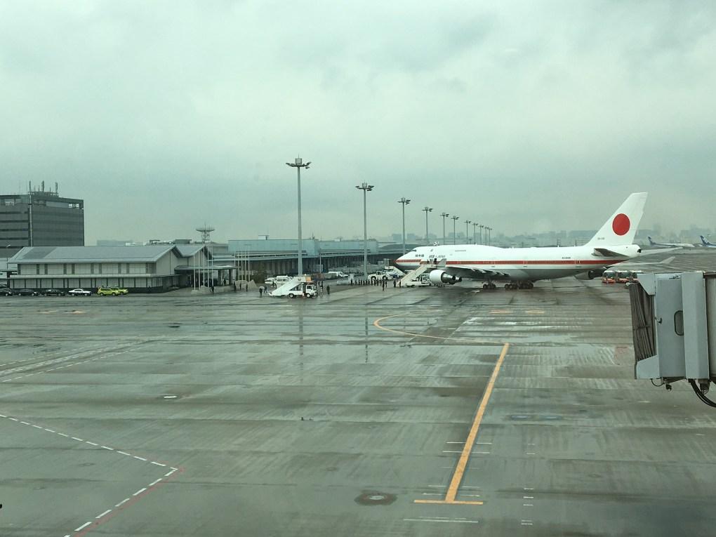 aereo giapponese haneda