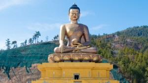 statua budda in Bhutan