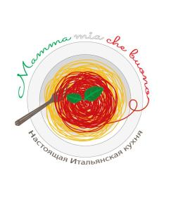 logo mamma mia che buono! del food blog su Instagram di Cristina Baldi Traveltherapists