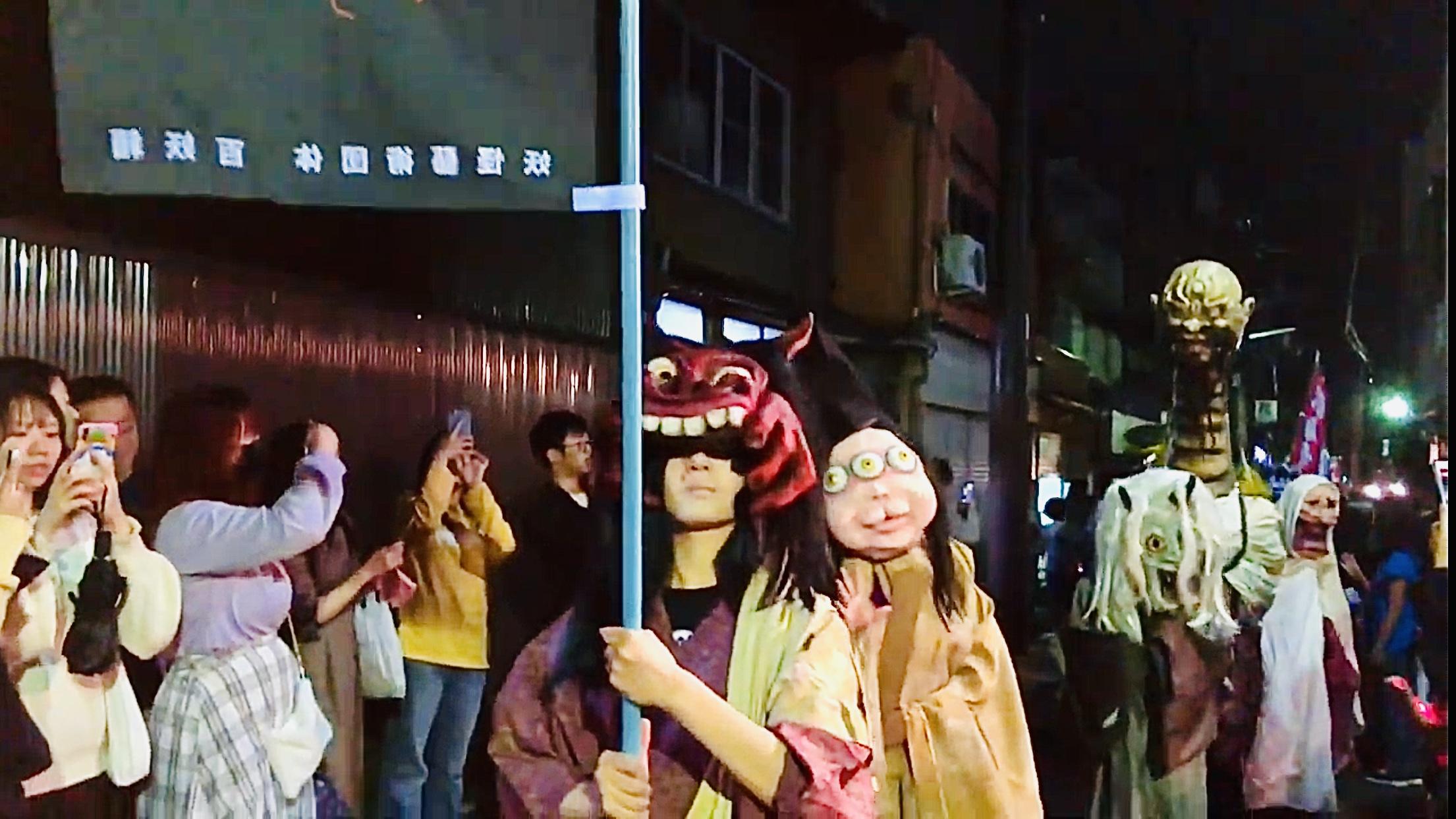 kyoto hyakki yagyo parade traveltherapists2 kyoto hyakki yagyo parade Il mio viaggio in Giappone traveltherapists blog giappone elina e marzia blogger miglior blog di viaggio