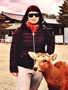 marzia nara traveltherapists cervi sika giappone