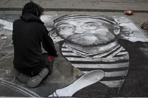 street art traveltherapists lucio dalla bologna