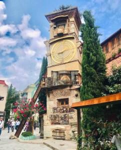 tblisi traveltherapists georgia Revaz Rezo Gabriadze torre pendente