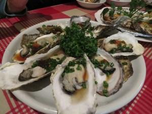 dove mangiare a Tokyo il mio viaggio in Giappone traveltherapists izakaya ostriche