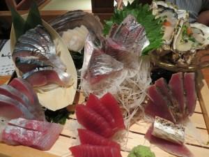 dove mangiare a Tokyo il mio viaggio in Giappone traveltherapists izakaya sashimi