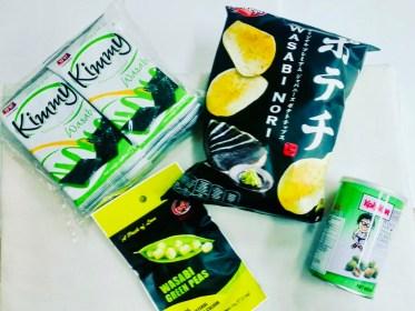 patatine snack salati wasabi il mio viaggio in giappone traveltherapists miglior blog di viaggio.