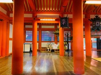 santuario rosso itsukushima shrine miyajima il mio viaggio in giappone Uno dei santuari più antichi del Giappone traveltherapists blog giappone miglior blog di viaggio