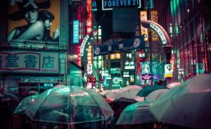 tokyo di notte pioggia in giappone il mio viaggio in giappone traveltherapists blog giappone miglior blog di viaggio