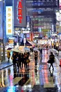 tokyo-pioggia in giappone il mio viaggio in giappone traveltherapists blog giappone miglior blog di viaggio