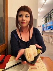 marzia onigiri elina ramen bar akira ramen deluxe Akira Ramen Bar Roma il mio viaggio in giappone traveltherapists